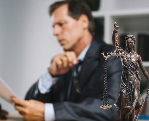 image d'illustration montrant un avocat